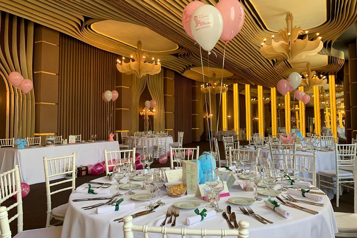 Nunta Botez Salon Ballroom Evenimente Corporate Party Birthday Aniversare Bucuresti - Signature Events